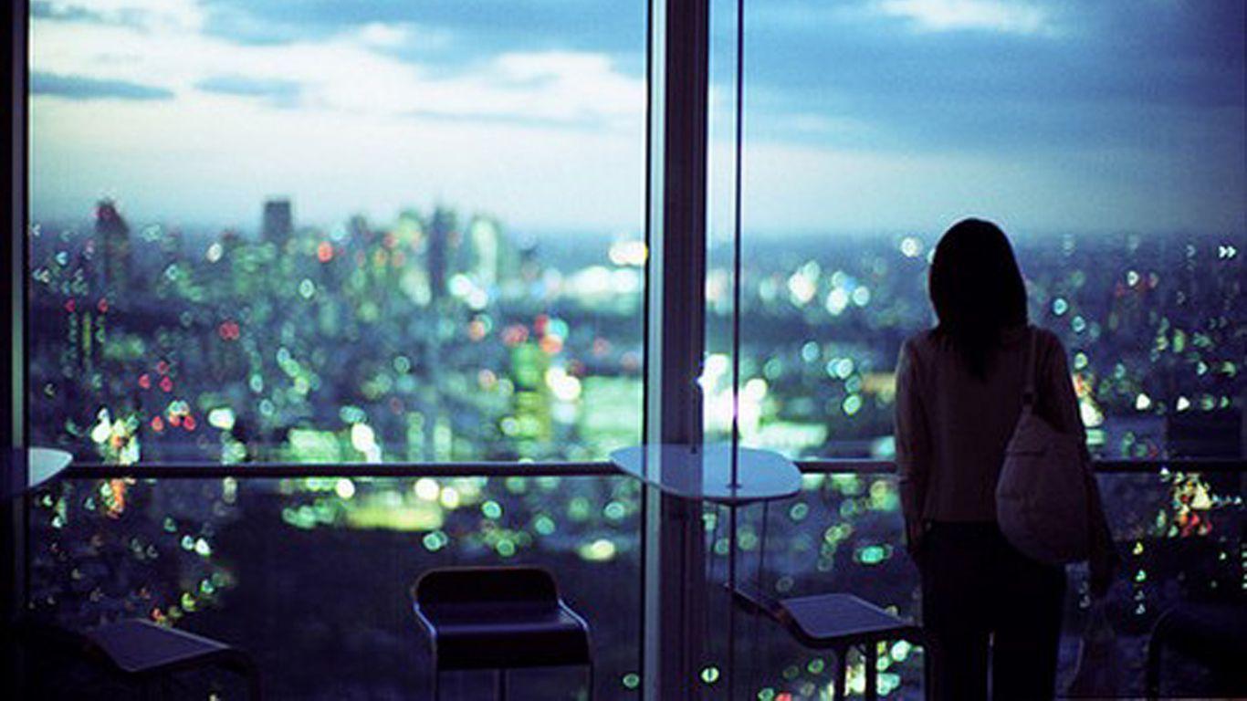 Фотографируя девушек в ночных окнах 14 фотография